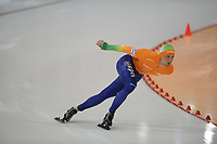 SCHAATSEN: SALT LAKE CITY: Olympic Oval, 27-01-2013, Seizoen 2012-2013, Essent ISU WK sprint, 1000m Men, wereldkampioen Michel Mulder (NED), ©foto Martin de Jong