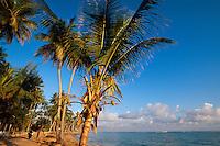 Dominikanische Republik, Strand bei Las Galeras auf der Samana-Halbinsel