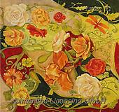 Franco, FLOWERS, BLUMEN, FLORES, paintings+++++,ITZP01,#f#, EVERYDAY