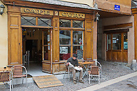 Europe/France/Rhône-Alpes/74/Haute-Savoie/Annecy: Café Curt, 35, pl. Ste Claire. [Non destiné à un usage publicitaire - Not intended for an advertising use]
