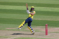 Colin de Grandhomme hits 6 runs for Hampshire during Hampshire Hawks vs Essex Eagles, Vitality Blast T20 Cricket at The Ageas Bowl on 16th July 2021