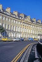 Bath: Camden Crescent, 1788. Design attributed to John Eveleigh.