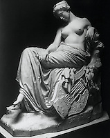 Statue of Sappho, by G. Depre
