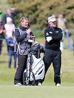 Sunday 31st May 2015; Darren Clarke, Northern Ireland, waits to play his approach to the 11th<br /> <br /> Dubai Duty Free Irish Open Golf Championship 2015, Round 4 County Down Golf Club, Co. Down. Picture credit: John Dickson / DICKSONDIGITAL