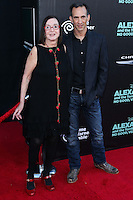 HOLLYWOOD, LOS ANGELES, CA, USA - OCTOBER 06: Judith Viorst, Anthony Viorst arrive at the World Premiere Of Disney's 'Alexander And The Terrible, Horrible, No Good, Very Bad Day' held at the El Capitan Theatre on October 6, 2014 in Hollywood, Los Angeles, California, United States. (Photo by Xavier Collin/Celebrity Monitor)