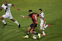 Campinas (SP), 14/08/2020 - Ponte Preta - Vitória-BA - Léo Ceará do Vitória. Partida entre Ponte Preta e Vitória-BA pelo Campeonato Brasileiro 2020 da serie B, nesta sexta-feira (14), no Estádio Moisés Lucarelli, em Campinas (SP).