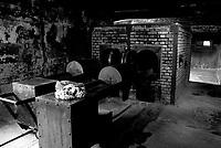 Auschwitz / Poland 2011.Auschwitz I Nazi extermination camp..Crematorium..Photo Livio Senigalliesi