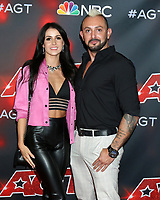 LOS ANGELES - SEP 7:  Anna Silva, Alfredo Silva, Deadly Games at the America's Got Talent Live Show Red Carpet at the Dolby Theater on September 7, 2021 in Los Angeles, CA