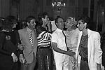 STEFANIA SANDRELLI CON BIAGIO ARIXI, ELSA MARTINELLI, ROCCO BAROCCO, SANDRA MILO ED EDWIGE FENECH