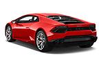 Car pictures of rear three quarter view of 2019 Lamborghini Huracan - 2 Door Coupe Angular Rear