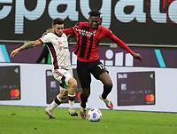 Milano 12-05 2021<br /> Stadio Giuseppe Meazza<br /> Serie A  Tim 2020/21<br /> Milan - Cagliari<br /> Nella foto:  Rafael Leo                                    <br /> Antonio Saia Kines Milano