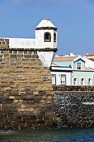 Portao Fortificado de Porto Pim in Horta auf der Insel Faial, Azoren, Portugal