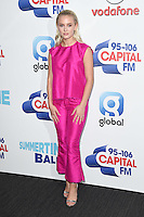 Zara Larsson<br /> at the Capital Radio Summertime Ball 2016, Wembley Arena, London.<br /> <br /> <br /> ©Ash Knotek  D3132  11/06/2016