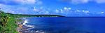 Niue Island Panorama - Panorama of the coast of Niue Island <br />