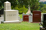 Captain Timothy S. O'Leary and Colonel Lee Dallas Mork Monuments, Arlington National Cemetery, Arlington, Virginia
