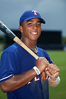 Brandon McIlwain (11) of Council Rock North High School in Newtown, Pennsylvania playing for the Texas Rangers scout team during the East Coast Pro Showcase on July 29, 2015 at George M. Steinbrenner Field in Tampa, Florida.  (Mike Janes/Four Seam Images)