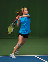 20131201,Netherlands, Almere,  National Tennis Center, Tennis, Winter Youth Circuit, Margriet Timmermans  <br /> Photo: Henk Koster