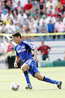 Roger Espinoza,.Kansas City Wizards and Atlas (Mexico) played to a 0-0 tie at Robert R Hermann Stadium, on the campus of Saint Louis University, St Louis , Missouri.