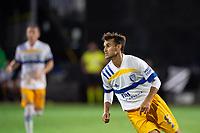 LAKE BUENA VISTA, FL - JULY 27: Chris Wondolowski #8 of the San Jose Earthquakes looking for the pass during a game between San Jose Earthquakes and Real Salt Lake at ESPN Wide World of Sports on July 27, 2020 in Lake Buena Vista, Florida.