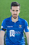 St Johnstone FC 2019-20<br />Callum Booth<br />Picture by Graeme Hart.<br />Copyright Perthshire Picture Agency<br />Tel: 01738 623350  Mobile: 07990 594431