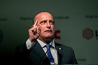 SÃO PAULO, SP, 17.06.2019: ETHAMOL SUMMIT 2019 -SP- Onyx Lorenzoni, Ministro Chefe da Casa Civil, participa do Ethanol Summit 2019, maior evento sucroenergético da América Latina, que acontece na Fecomércio, (Federação do Comércio de Bens, Serviços e Turismo do Estado de São Paulo), São Paulo, SP, nesta segunda-feira (17). (Foto: Marivaldo Oliveira/Código19)