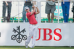 Scott Henry of Scotland tees off the first hole during the 58th UBS Hong Kong Golf Open as part of the European Tour on 08 December 2016, at the Hong Kong Golf Club, Fanling, Hong Kong, China. Photo by Marcio Rodrigo Machado / Power Sport Images