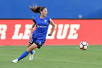 Frisco, TX - Sunday September 03, 2017: Rumi Utsugi during a regular season National Women's Soccer League (NWSL) match between the Houston Dash and the Seattle Reign FC at Toyota Stadium in Frisco Texas. The match was moved to Toyota Stadium in Frisco Texas due to Hurricane Harvey hitting Houston Texas.