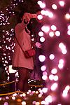 People take a selfie under the illuminations at Shinjuku Terrace City on November 16, 2017, Tokyo, Japan. Shinjuku Terrace City Illuminations are seen around Odakyu Line Shinjuku Station. This year marks the 12th year of the illumination event, which can be enjoyed until February 22, 2018. (Photo by Rodrigo Reyes Marin/AFLO)