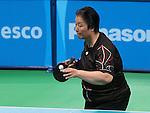 Stephanie Chan, Rio 2016 - Para Table Tennis // Para tennis de table.<br /> Stephanie Chan competes in the women's Para table tennis bronze medal game // Stephanie Chan participe au match pour la médaille de bronze en para tennis de table féminin. 13/09/2016.