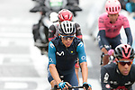 Miguel Angel Lopez Moreno (COL) Movistar Team crosses the finish line at the end of Stage 16 of the 2021 Tour de France, running 169km from Pas de la Case to Saint-Gaudens, Andorra. 13th July 2021.  <br /> Picture: Colin Flockton   Cyclefile<br /> <br /> All photos usage must carry mandatory copyright credit (© Cyclefile   Colin Flockton)