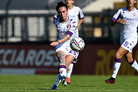 Michela Catena of ACF Fiorentina in action during the women Serie A football match between AS Roma and ACF Fiorentina at Tre Fontane Stadium in Roma (Italy), November 7th, 2020. Photo Andrea Staccioli / Insidefoto