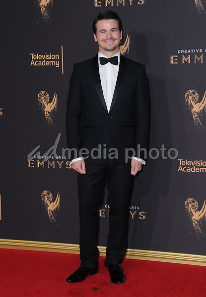 10 September  2017 - Los Angeles, California - Jason Ritter. 2017 Creative Arts Emmys - Arrivals held at Microsoft Theatre L.A. Live in Los Angeles. Photo Credit: Birdie Thompson/AdMedia