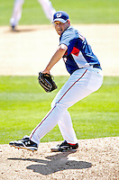 18 March 2007: Washington Nationals pitcher Joel Hanrahan in action against the Florida Marlins at Space Coast Stadium in Viera, Florida...Mandatory Photo Credit: Ed Wolfstein Photo