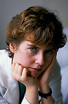 Dr Maura Stafford under stress long hours often 80 hr shift over weekend and 57 hrs without a break. Royal United Hospital Bath Hospital Somerset  1989 1980s. UK