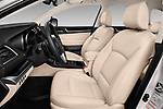Front seat view of a 2017 Subaru Outback Premium 5 Door Wagon front seat car photos