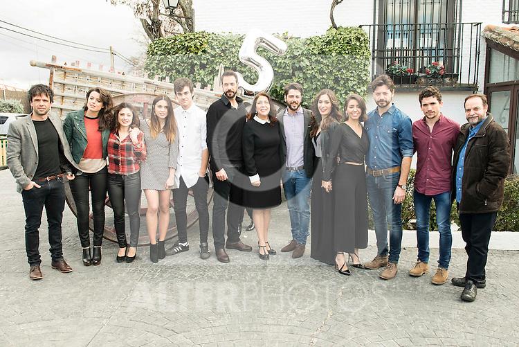 "Full cast at lunch on the 5th anniversary of "" El secreto de Puente Viejo"" series  in Madrid, February 18, 2016<br /> (ALTERPHOTOS/BorjaB.Hojas)"