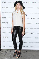 NEW YORK CITY, NY, USA - SEPTEMBER 03: Peyton List arrives at the Flaunt Magazine Distress Issue Launch held at Gilded Lily on September 3, 2014 in New York City, New York, United States. (Photo by Jeffery Duran/Celebrity Monitor)