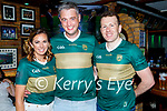 Enjoying the evening in Tatler Jack's in Killarney on Saturday, l to r: Triona Ní Laoithe, Sean O'Laoithe and Luke Quinn.