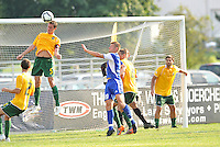 Jack Traynor (#5 stl)...AC St Louis and NSC Minnesota Stars played to a 2-2 tie at Anheuser-Busch Soccer Park, Fenton, Missouri.