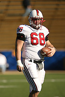2 December 2006: Bobby Dockter during Stanford's 26-17 loss to Cal in the 109th Big Game at Memorial Stadium in Berkeley, CA.