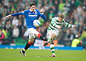 ::  CELTIC'S KRIS COMMONS CLEARS FROM RANGERS' KYLE LAFFERTY ::