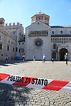 Europe Virus Outbreak - Italy's Daily Life in Trento, Italy on May 4, 2020. Italy is not anymore under a lockdown, confinement to avoid the spread of the pandemic of the Novel Coronavirus Sars-Cov-2. Daily life in the Phase 2 (Reopening).