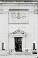 The National Postal Museum, located opposite Union Station in Washington, D.C., USA