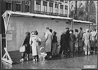 Public information about floods, national mourning Date: February 5, 1953 Location: Breda