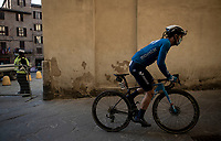 Gonzalo Serrano (ESP/Movistar) post-race<br /> <br /> 15th Strade Bianche 2021<br /> ME (1.UWT)<br /> 1 day race from Siena to Siena (ITA/184km)<br /> <br /> ©kramon