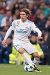 Luka Modric of Real Madrid during the UEFA Champions League 2017-18 match between Real Madrid and Tottenham Hotspur FC at Estadio Santiago Bernabeu on 17 October 2017 in Madrid, Spain. Photo by Diego Gonzalez / Power Sport Images