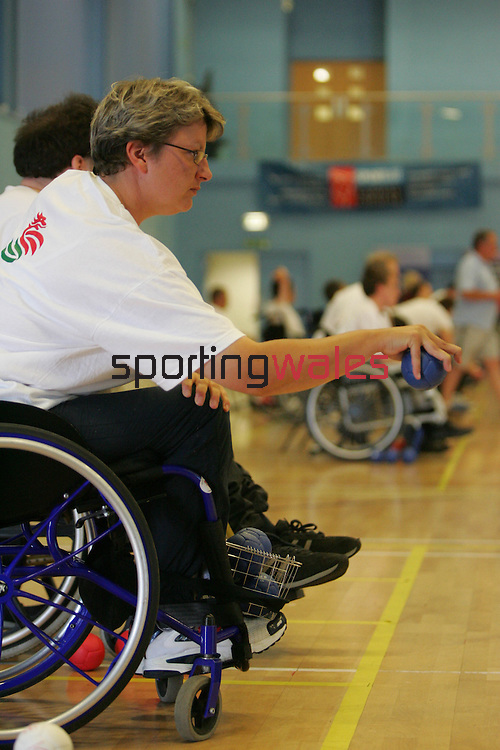 Welsh Boccia Championship.Cwmbran Stadium.02.07.06.©Steve Pope.Steve Pope Photography.The Manor .Coldra Woods.Newport.South Wales.NP18 1HQ.07798 830089.01633 410450.steve@sportingwales.com.