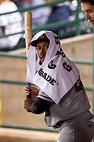 Quad Cities River Bandits Marty Costes (23) during a Midwest League game against the Fort Wayne TinCaps at Parkview Field on May 3, 2019 in Fort Wayne, Indiana. Quad Cities defeated Fort Wayne 4-3. (Zachary Lucy/Four Seam Images)