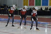 SPEEDSKATING: 13-02-2020, Utah Olympic Oval, ISU World Single Distances Speed Skating Championship, Team Sprint Ladies, Team POL, ©Martin de Jong