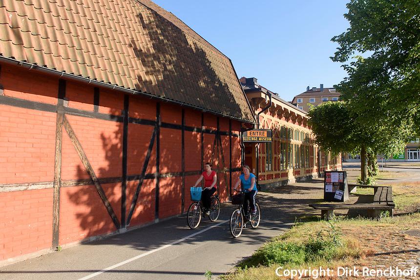 Blekingemuseum in Karlskrona, Provinz Blekinge, Schweden, Europa, UNESCO-Weltkulturerbe<br /> Blekingemuseum  in Karlskrona, Province Blekinge, Sweden